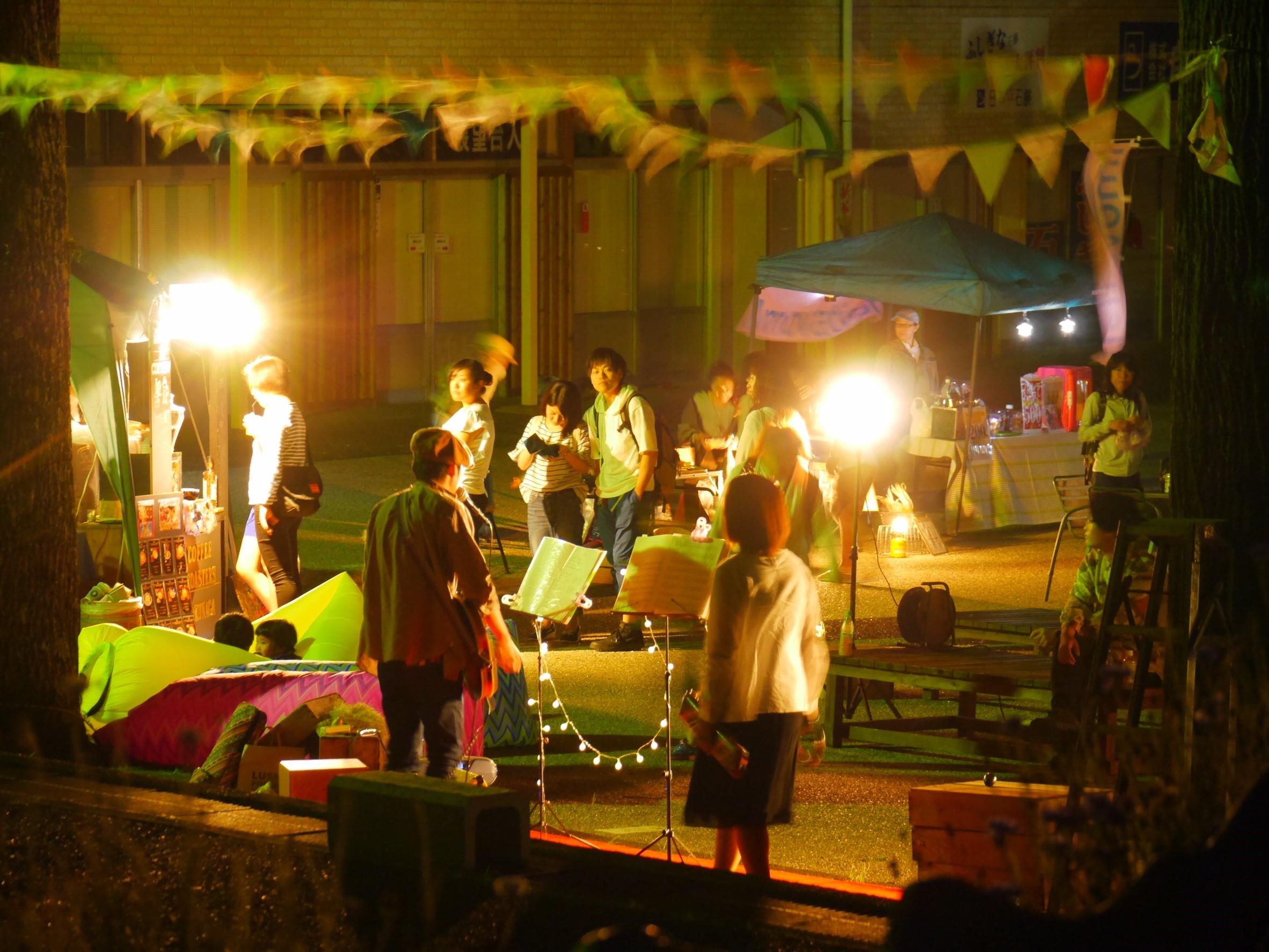 日本平夜市を運営している人たち
