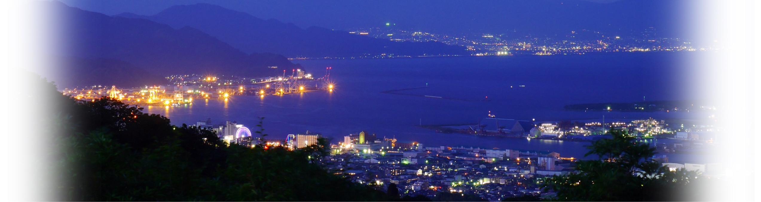 日本平夜市の夜景